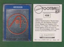 Aberdeen Badge 458